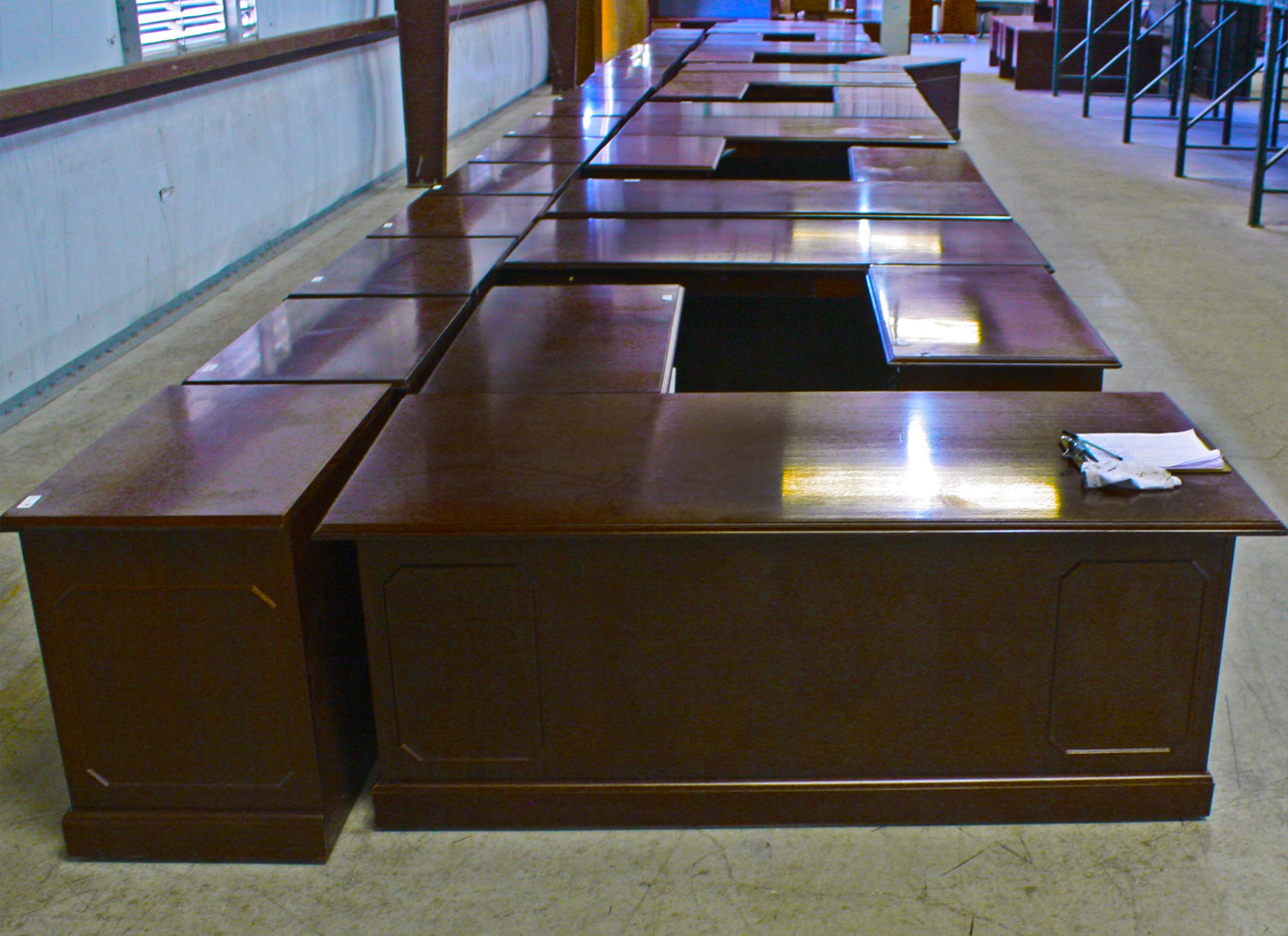 savvi commercial furniture used traditional office desk houston