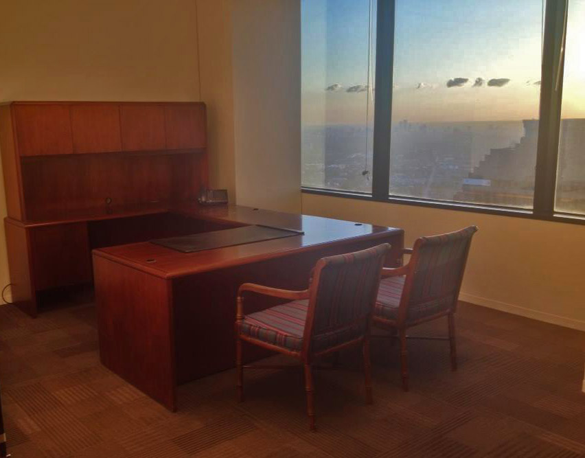 Savvi Commercial Furniture Used Transitional Office Desk Houston