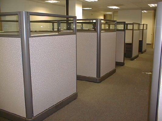 SAVVI Commercial And Office Furniture   Affordable And High Quality  Cubicles 8x8 U0026 6x8 Or 6x6 AO2 Cubicle Workstations WE WILL BEAT ANY  ESTIMATE Action ...